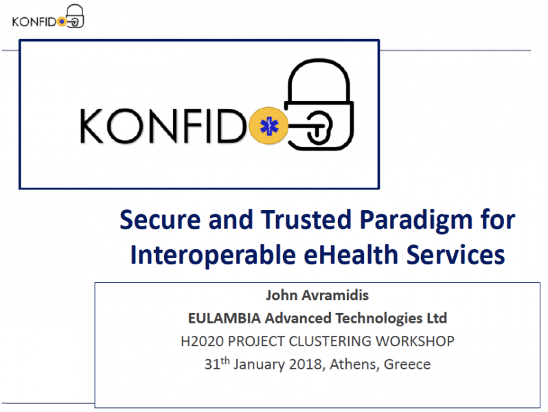 KONFIDO at H2020PCW