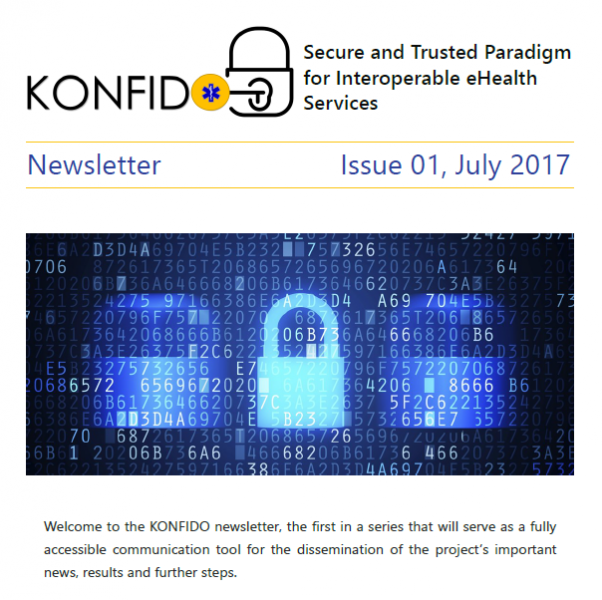 1st konfido newsletter screenshot