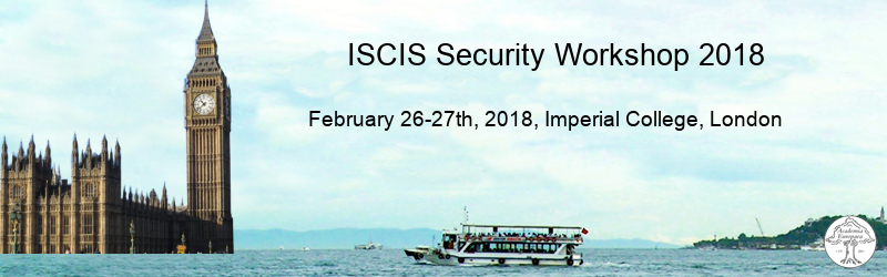 ISCIS Security Workshop 2018