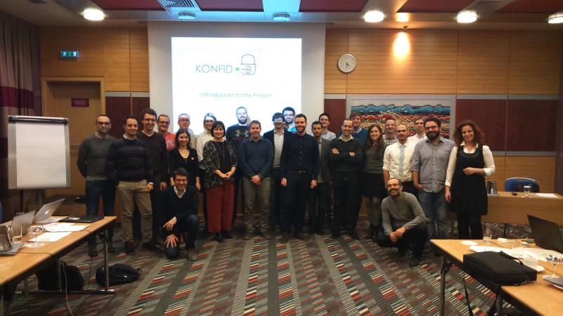 KONFIDO Kickoff meeting Athens